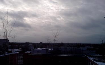 Серое небо ноября